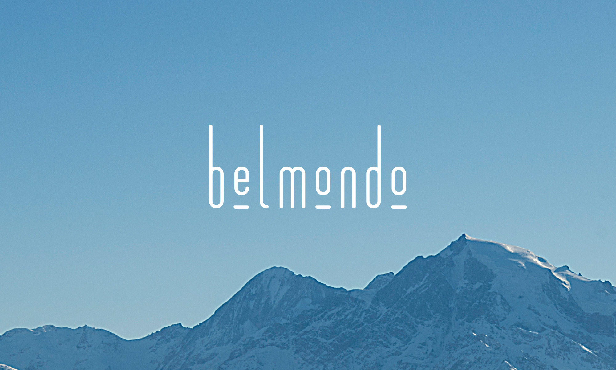 cafe bar belmondo switzerland identity design